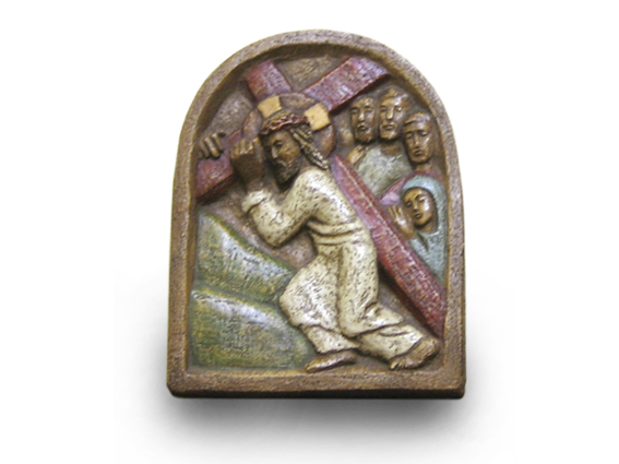 bajo relieve via crucis