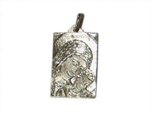 colgante medalla virgen camino