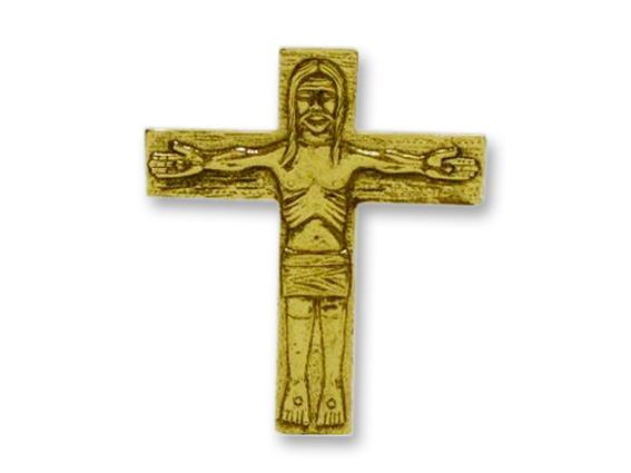 cruz bolsillo itinerante oro