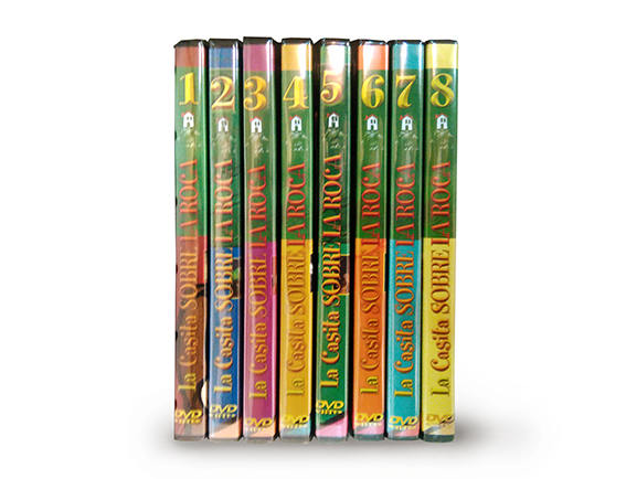 DVD valivan la casita sobre la roca