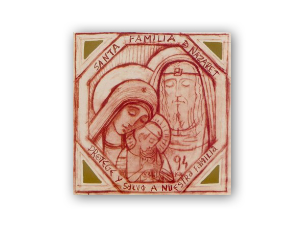 icono sagrada familia nazaret