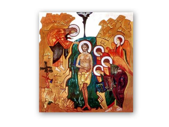 icono bautismo