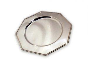 plato cirio octogonal