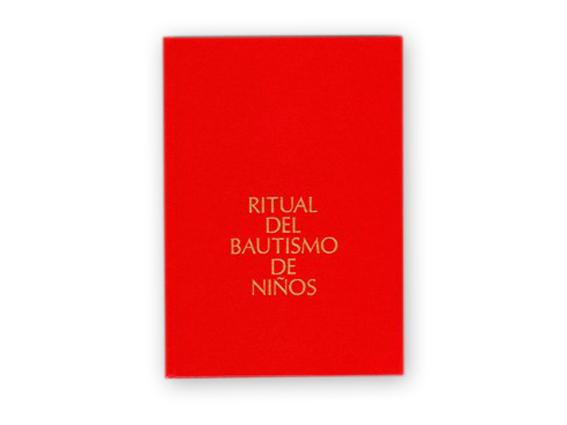 libro ritual bautismo
