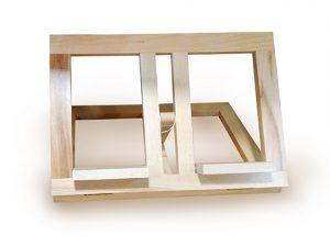 atril mesa madera