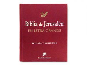biblia jerusalen letra grande