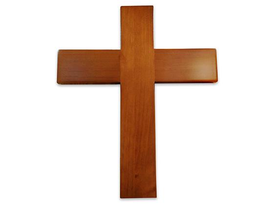 cruz pared madera