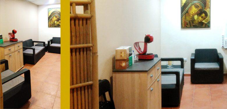 sala cafe signos encuentro camino